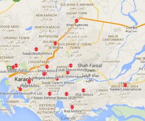 Pak Suzuki Authorized Dealers in Karachi Lahore Islamabad