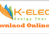 Kesc Duplicate Bill 2018 K electric Bill Print View Download Online