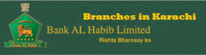 Bank Al Habib Branches in Karachi Contact Number