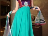 simple frocks designs pakistani