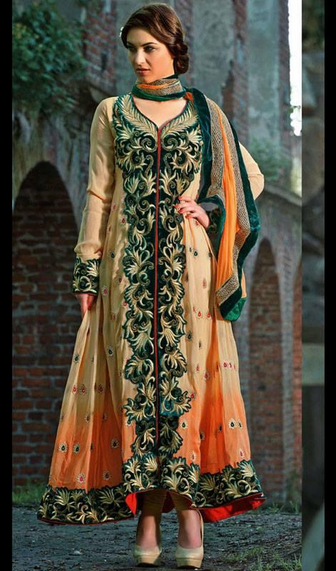 Pakistani embroidery designs for salwar kameez suits