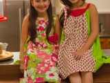simple short frocks for kids