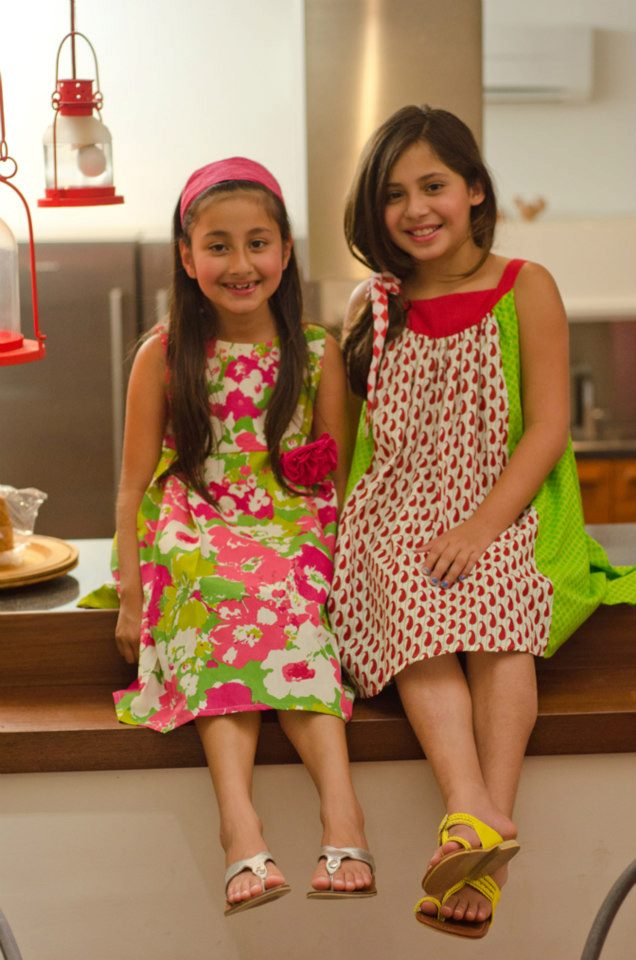 Kids Frocks Design 2018 Long Cotton For Summer Party Wear