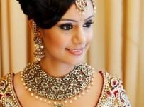 pakistani bridal hairstyles pics