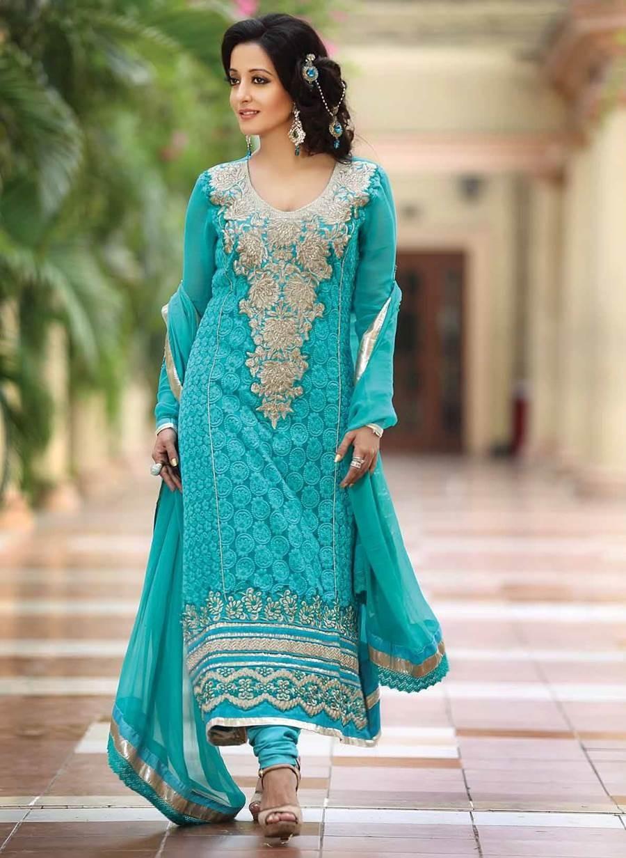 Designer Salwar Kameez Neck Designs Latest Cotton Salwar K...