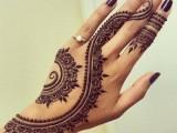 mehndi designs for back hand images