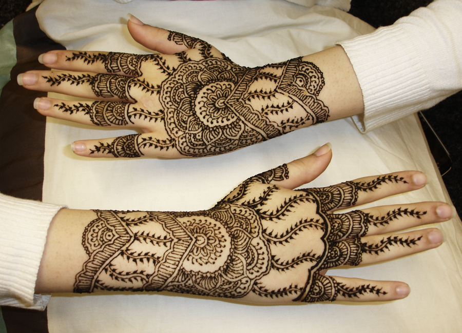 Eid henna dezine