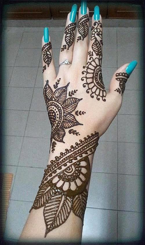 Latest Mehndi Designs: Pakistani Bridal Mehndi Designs 2015 Photos