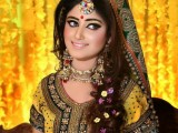 bridal mehndi dresses desings for women
