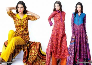 New Lawn Dress Design 2020 in Pakistan