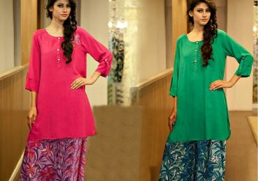 Pakistani Palazzo Pants With Long Kurta Shirts 2016