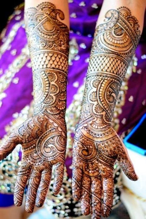 Full Arm Mehndi : Mehndi designs new style facebook pics