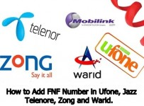 how to add friend and family number in ufone, jazz telenore, zong and warid