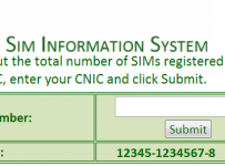 how to check zong sim ownership online