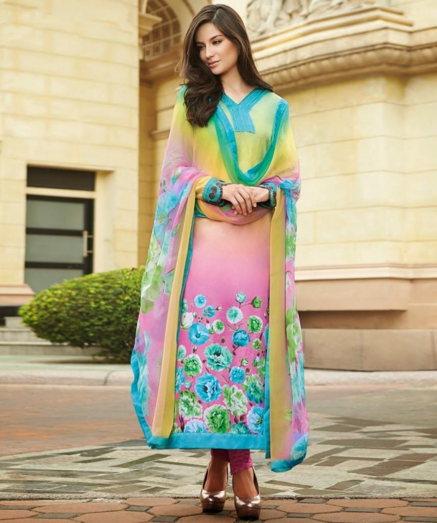 Luxury Saniamaskatiyalatestpakistanidressesstylespairingbellbottom