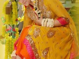gota dress for mehndi mayon