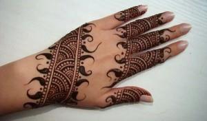 pakistani bridal mehndi designs 2015