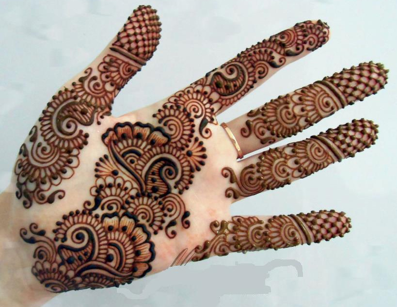 Mehndi Design New : Pakistani bridal mehndi designs photos
