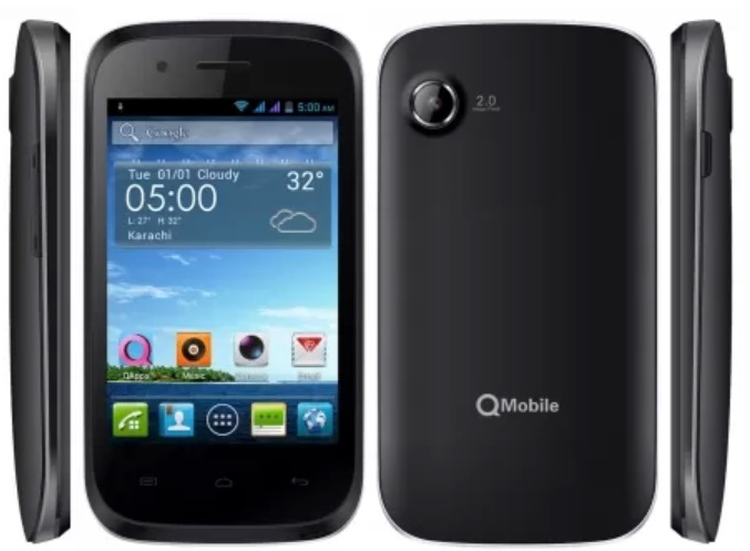 qmobile cheapest android phone