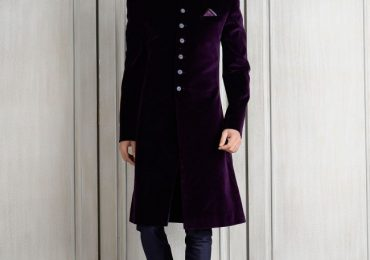 Velvet Sherwani Designs 2020 For Men Wedding in Pakistan