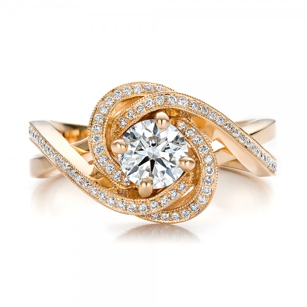 Latest Gold Engagement Rings