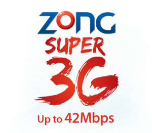 zong 3g prepaid and postpaid packages