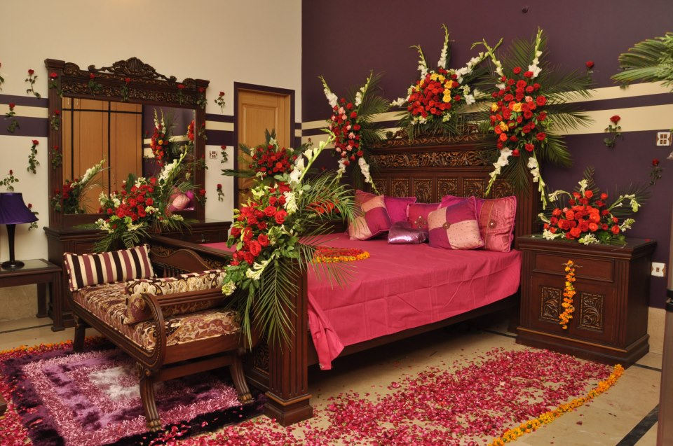 Wedding room decoration ideas in pakistan for bridal for Bedroom curtains designs in pakistan