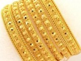 gold bangles fashion