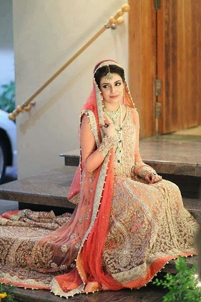 girls point pakistani bridal latest wedding dresses pics brides