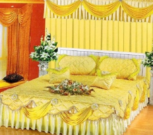 Wedding room decoration ideas in pakistan for bridal Bedroom wall designs in pakistan