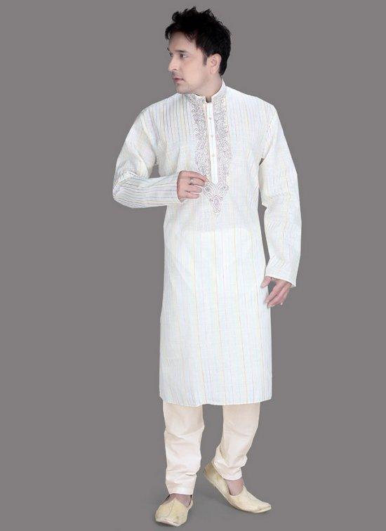 Punjabi Kurta Pajama Designs 2018 for Men Images