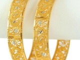 Pakistani New Gold Bangles Designs 2020 Pictures