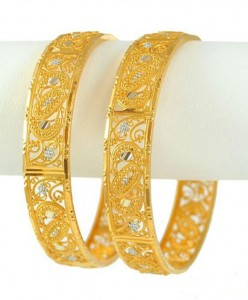 Pakistani New Gold Bangles Designs 2019 Pictures