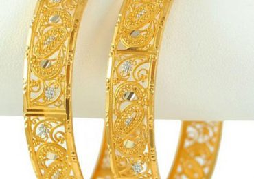 Pakistani New Gold Bangles Designs 2021 Pictures