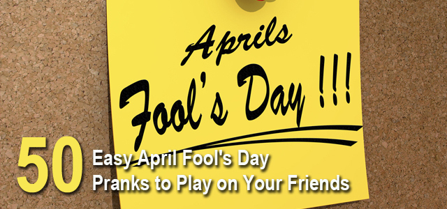 April Fool day 2015