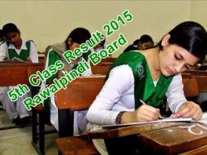 Five Class Result 2015 Rawalpindi Board
