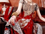 pakistani bridal wedding dresses in red