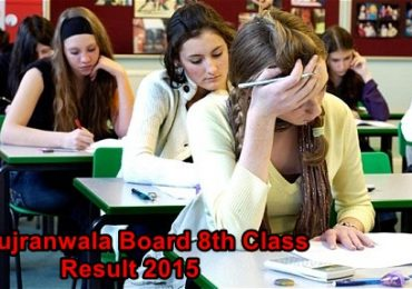 Bise Sialkot Narowal 8th Class Result 2018