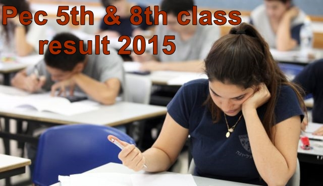 result 5th and 8th class
