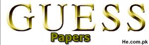 Peshawar board Guess Papers
