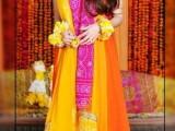 Mehndi dress for dulhan