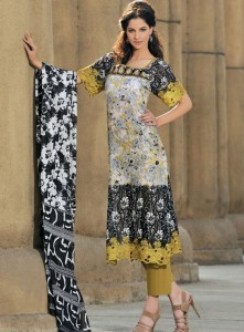 Lawn Frocks Designs in Pakistan 2019