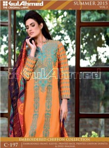 gul ahmed summer collection 2015