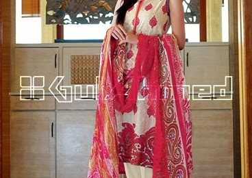 Gul Ahmed Lawn Prints 2015 Vol 2 Summer Collection