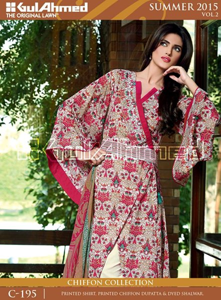 gul ahmed summer collection 2015 catalogue. Black Bedroom Furniture Sets. Home Design Ideas