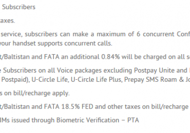 How to Activate Conference Call on Ufone Prepaid Postpaid Package Procedure Code