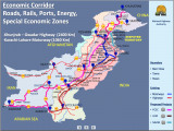 China Pakistan Economic Corridor Route Map and Its Implications in India