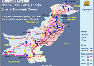 China Pakistan Economic Corridor CPEC Route Map