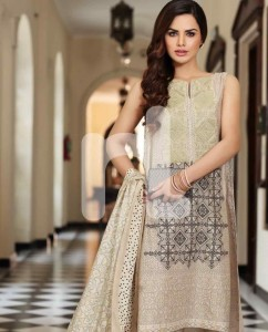 Nisha By Nishat Linen Summer Eid Pret Lawn Collection 2015