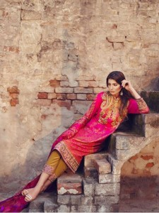 Sana Safinaz Silk Lawn Eid Collection 2015 Online Shopping